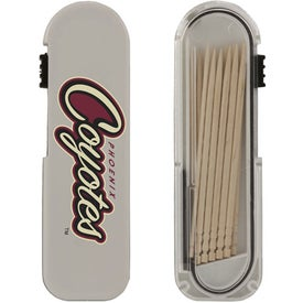 Travel Toothpick Dispenser with Your Logo
