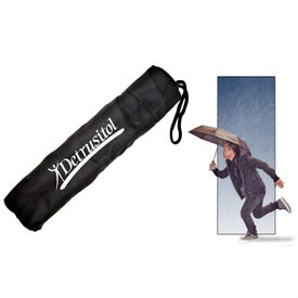 Travel Umbrella with Your Slogan