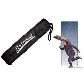 Travel Umbrella with Your Slogan