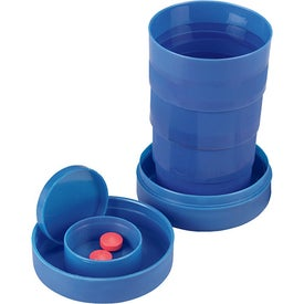 Travel Cup with Pill Compartment for Promotion