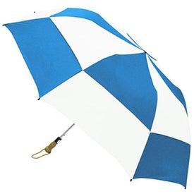 Traveler Deluxe Umbrella with Your Slogan