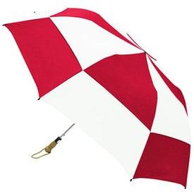Logo Traveler Deluxe Umbrella