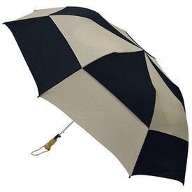 Branded Traveler Deluxe Umbrella