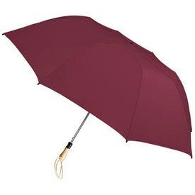 Traveler Large Auto-Open Folding Umbrella Imprinted with Your Logo