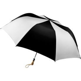 Personalized Traveler Large Auto-Open Folding Umbrella