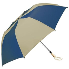 Traveler Large Auto-Open Folding Umbrella with Your Logo