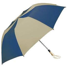 Traveler Large Auto-Open Folding Umbrella with Your Logo