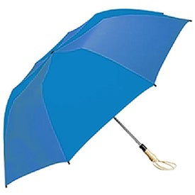 Traveler Large Auto-Open Folding Umbrella for Advertising