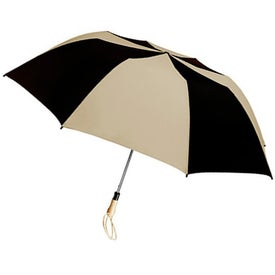 Customized Traveler Large Auto-Open Folding Umbrella