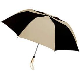 Customized Traveler Large Auto-Open Folding Umbrella