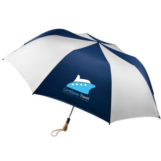 Traveler Large Auto-Open Folding Umbrella