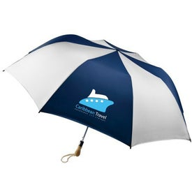 Traveler Large Auto-Open Folding Umbrella for Marketing