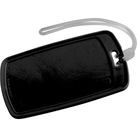 Traveler Rectangular Luggage Tag Branded with Your Logo