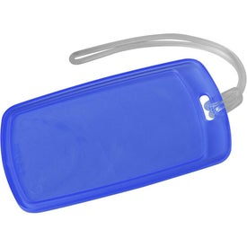 Traveler Rectangular Luggage Tag for Advertising