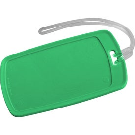Traveler Rectangular Luggage Tag for Your Church