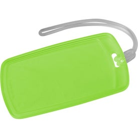 Imprinted Traveler Rectangular Luggage Tag