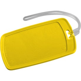 Traveler Rectangular Luggage Tag for Your Company