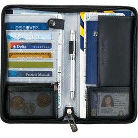 Monogrammed Travelpro TravelSmart Travel Wallet