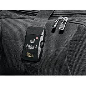 Custom Travel Sentry Locking Belt with Strap