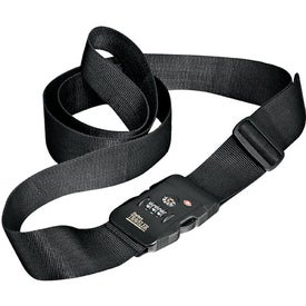 Travel Sentry Locking Belt with Strap