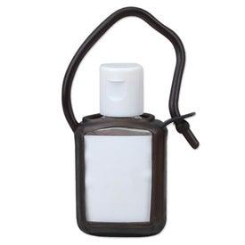 Promotional Travel Size Gel Sanitizer in Tag Along Bottle