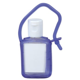 Customized Travel Size Gel Sanitizer in Tag Along Bottle