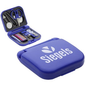 Travel Sewing Kit with Mini Scissors