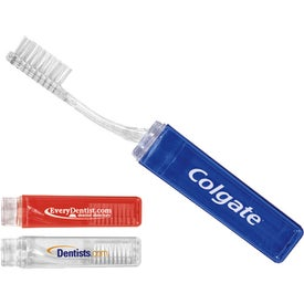 Compact Travel Toothbrush