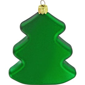 Tree Ornament Printed with Your Logo