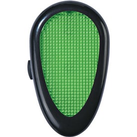 Custom Tri-Function Reflector Light with Clip