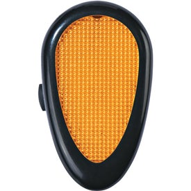 Logo Tri-Function Reflector Light with Clip