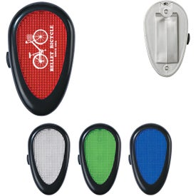 Tri-Function Reflector Light with Clip Imprinted with Your Logo