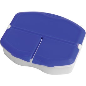 Imprinted Tri Minder Pill Box