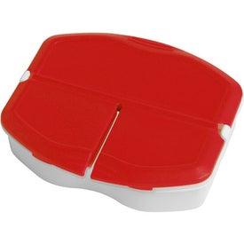 Monogrammed Tri Minder Pill Box