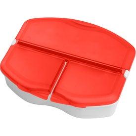 Personalized Tri Minder Pill Box
