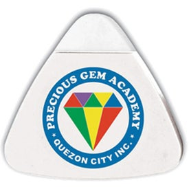 The Triad Eraser & Sharpeners with Your Slogan