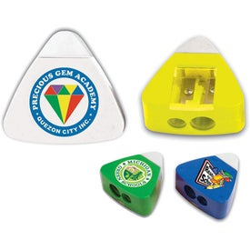 The Triad Eraser & Sharpeners Imprinted with Your Logo