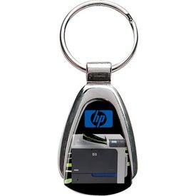 Triangle Metal Keychain for Marketing
