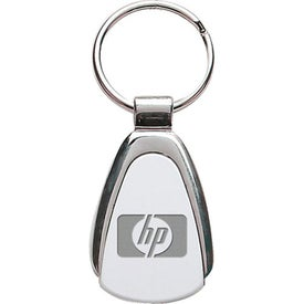 Triangle Metal Keychain with Your Logo