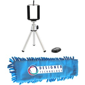 Tripod and Wireless Camera Shutter with Frizzy Bag