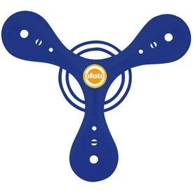 Personalized Tripod Boomerang