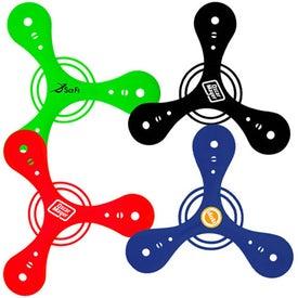 Branded Tripod Boomerang