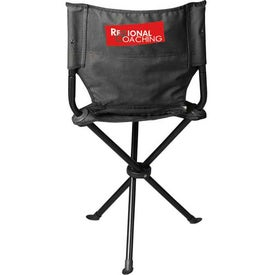 Tripod Stool with Back for Marketing