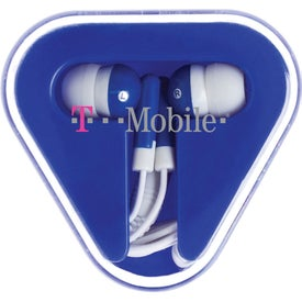 Triumph Ear Buds for Advertising
