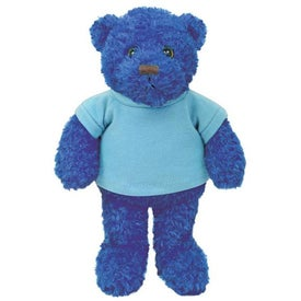 Plush Tropical Bear (Ocean Blue)