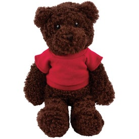 Plush Tropical Bear (Chocolate)