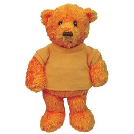 Plush Tropical Bear (Mango Orange)