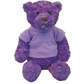 Plush Tropical Bear with Your Slogan