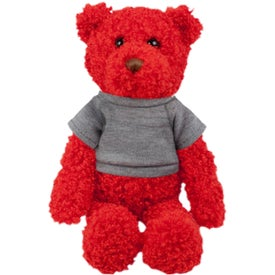 Plush Tropical Bear (Sunset Red)