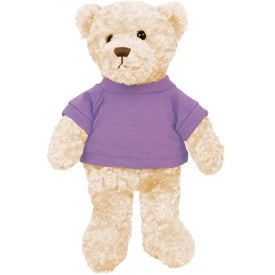 Plush Tropical Bear Branded with Your Logo